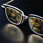 A Bathing Ape Eyewear Toronto Frames Back