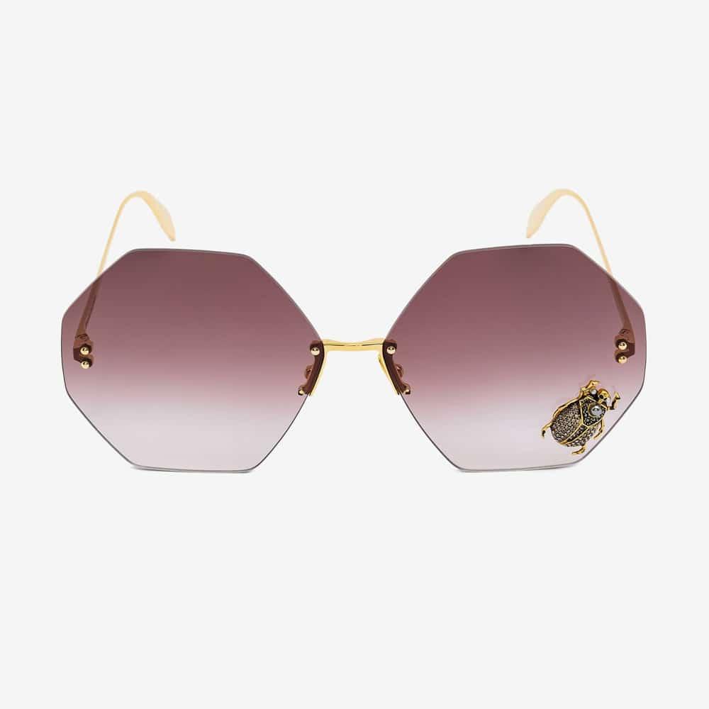 Alexander Mcqueen Sunglasses Toronto Beetle Jewelled F