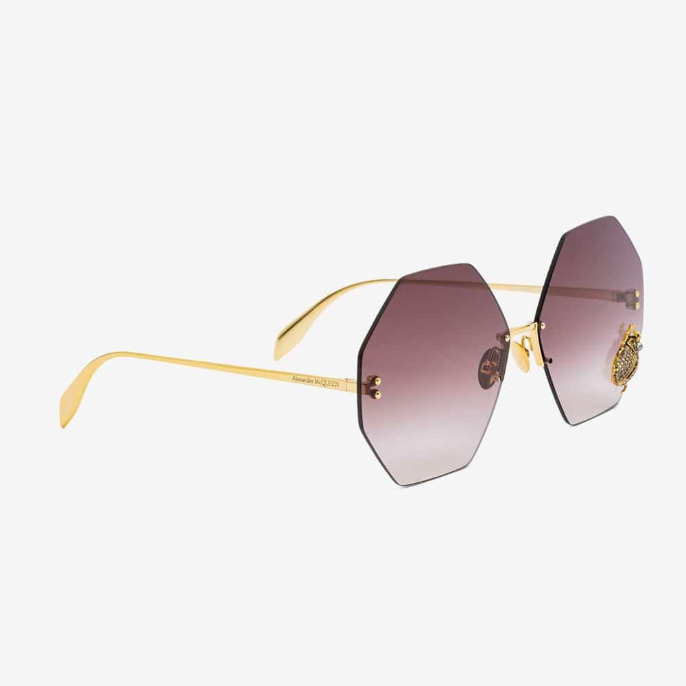 Alexander Mcqueen Sunglasses Toronto Beetle Jewelled P