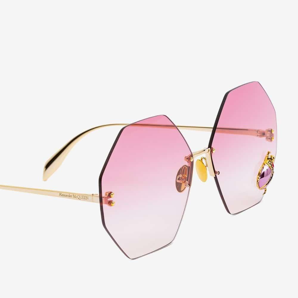 Alexander Mcqueen Sunglasses Toronto Beetle Jewelled P2
