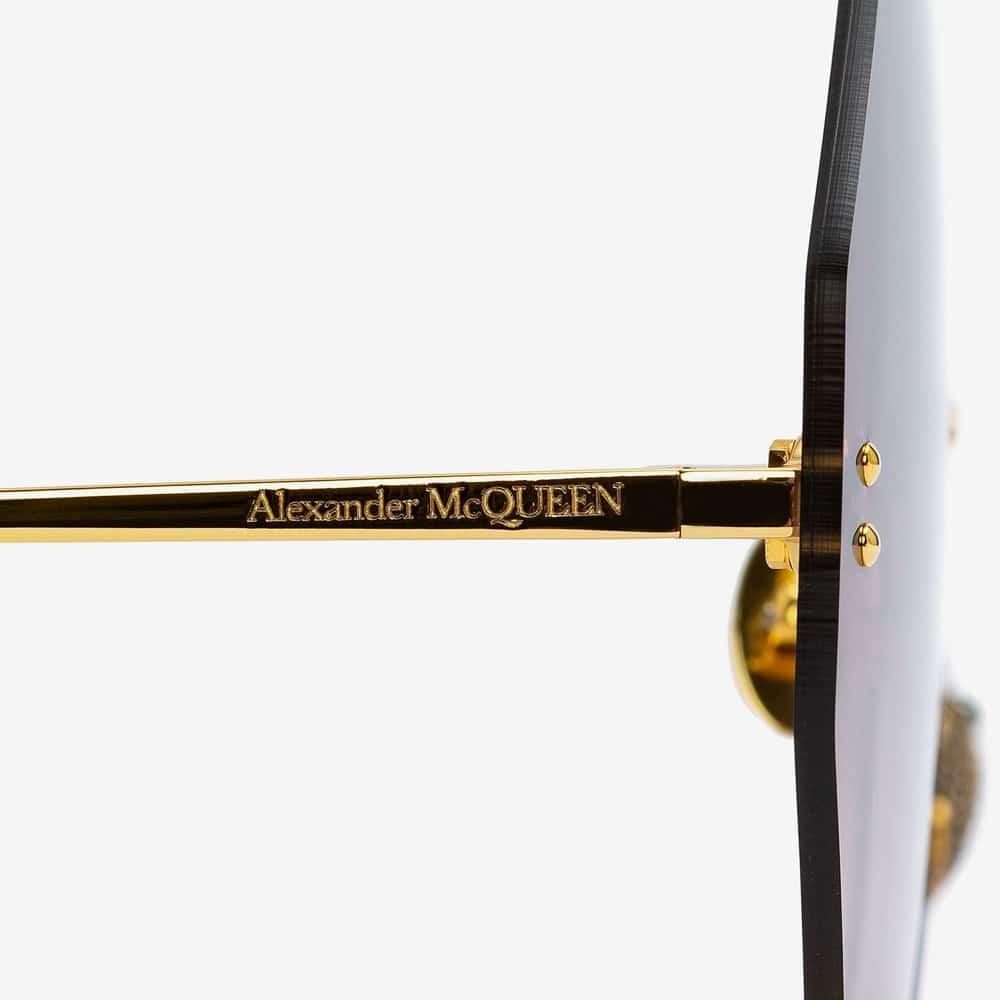 Alexander Mcqueen Sunglasses Toronto Beetle Jewelled S2