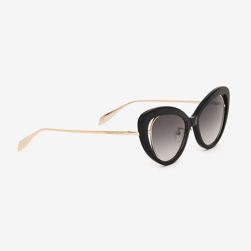 Alexander Mcqueen Sunglasses Toronto Open Wire Cat Eye P