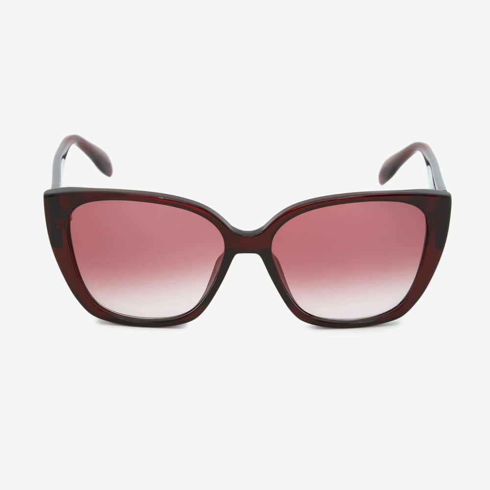 Alexander Mcqueen Sunglasses Toronto Seal Logo Burgundy F