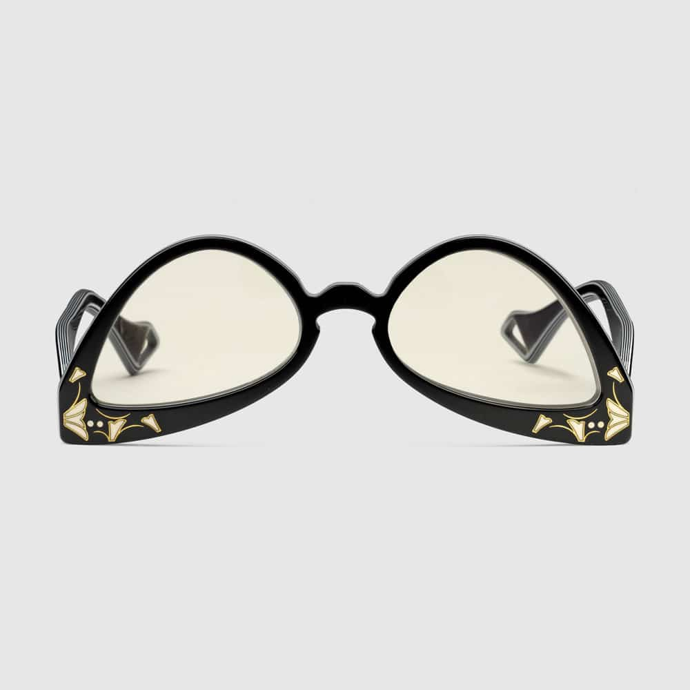 Gucci Glasses Brampton Inverted Cat Eye F