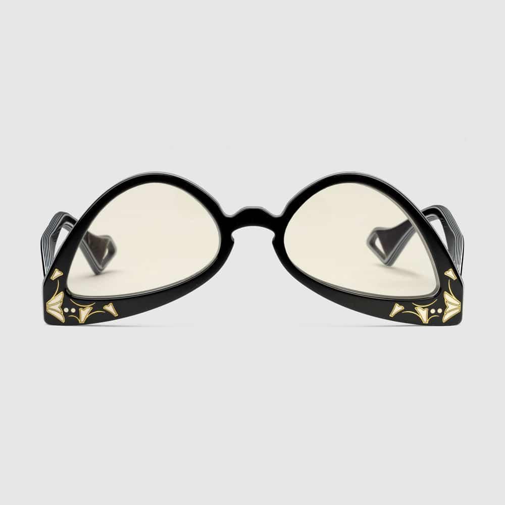 Gucci Glasses Brampton Inverted Cat Eye F