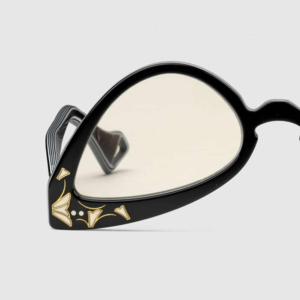 Gucci Glasses Brampton Inverted Cat Eye F2