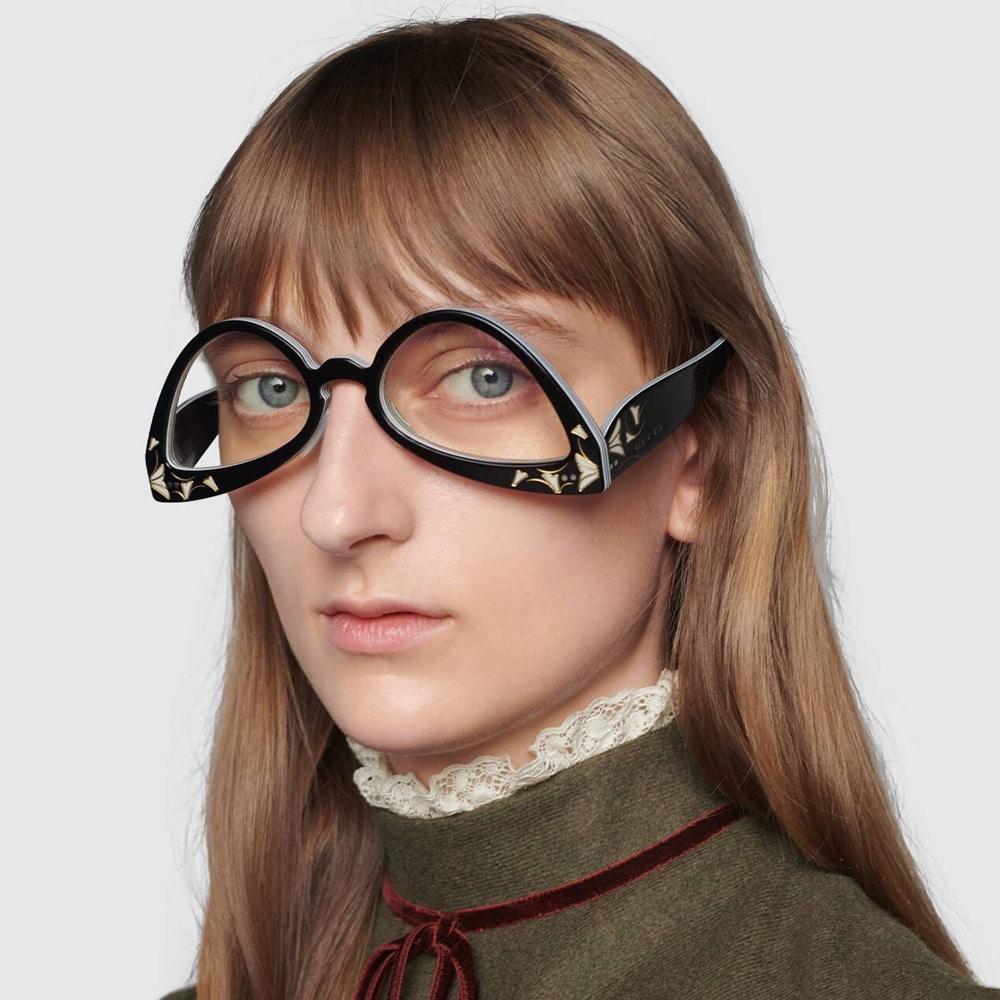 Gucci Glasses Brampton Inverted Cat Eye M