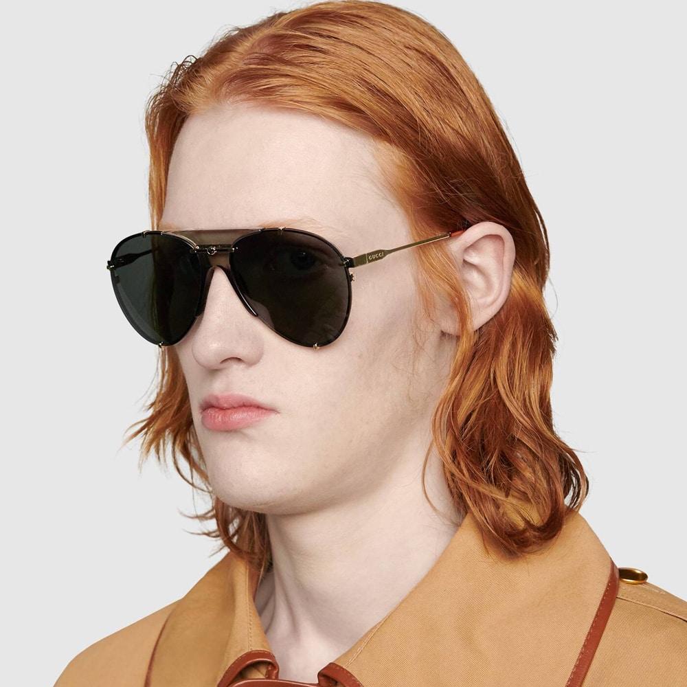 Gucci Glasses Toronto Aviators M