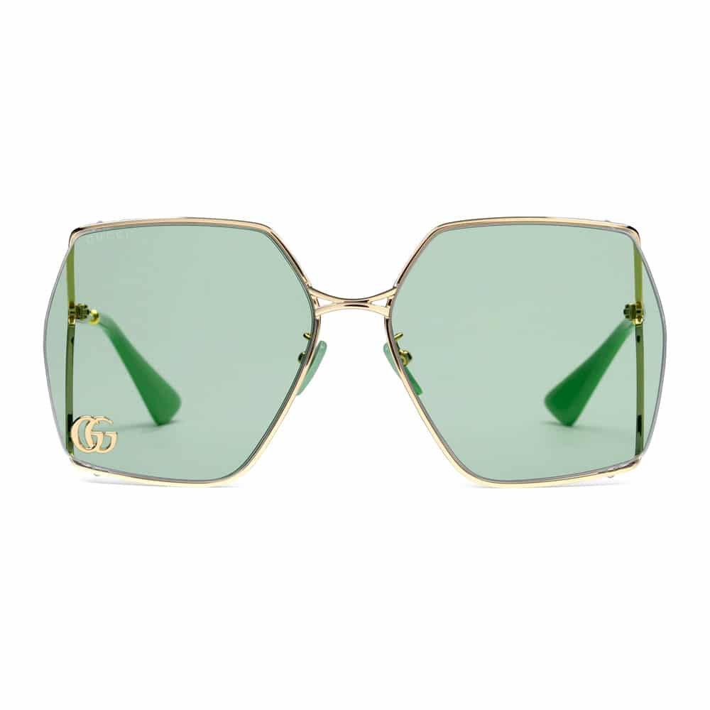 Gucci Sunglasses Brampton Oval Jade Frame F2