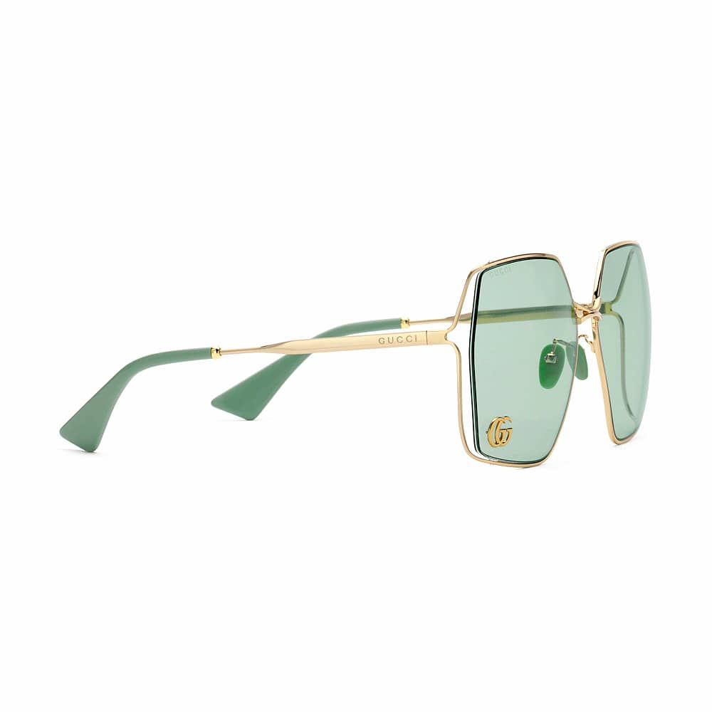 Gucci Sunglasses Brampton Oval Jade Frame S