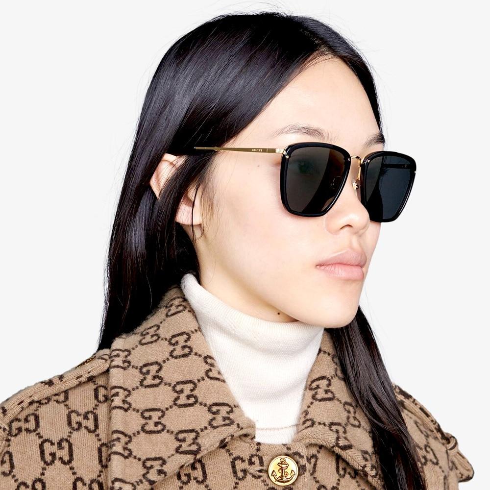 Gucci Sunglasses Brampton Square Frame M
