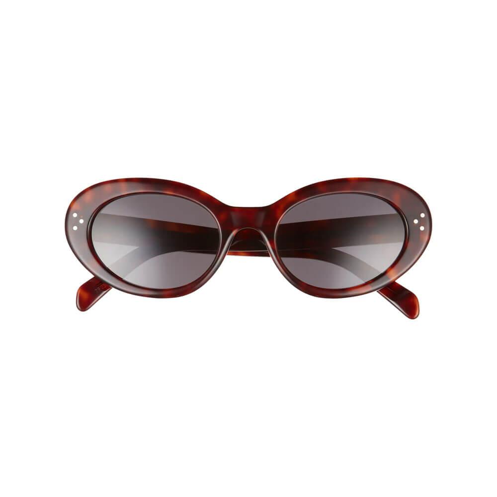 celine sunglasses 53mm cat eye