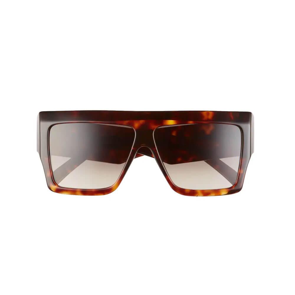celine sunglasses 60mm flattop