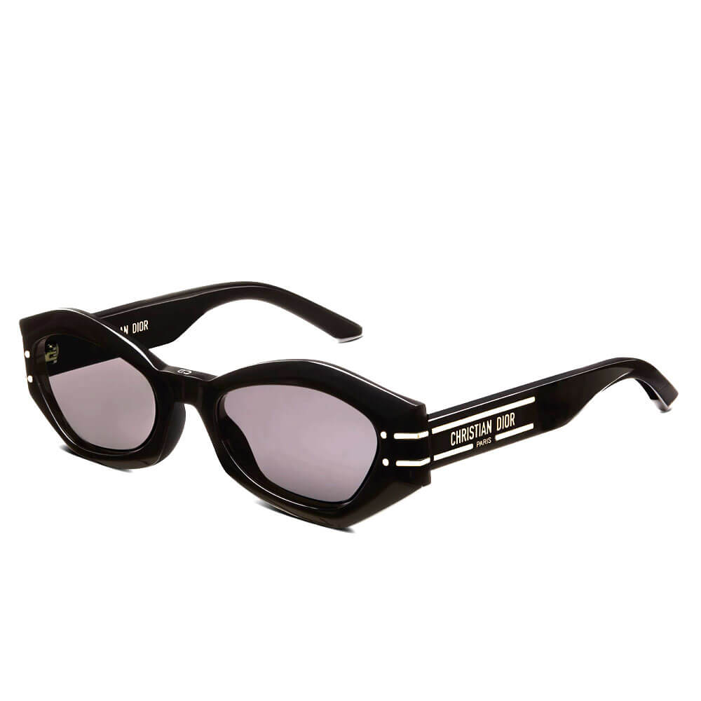 dior sunglasses signature collection black butterfly