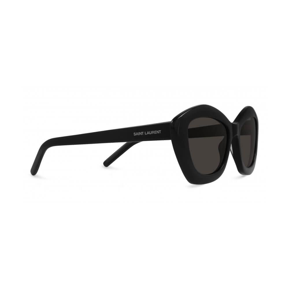 saint laurent sunglasses cat eye black