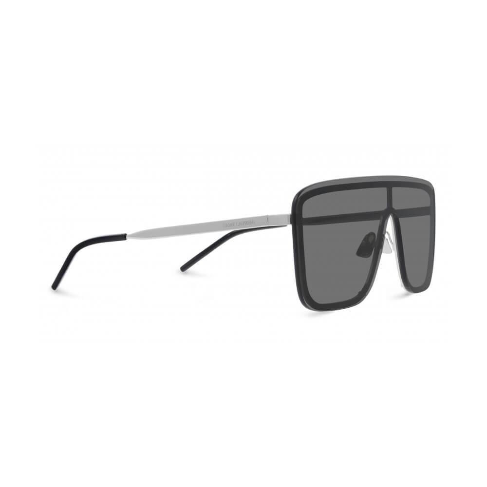 saint laurent sunglasses mask metal