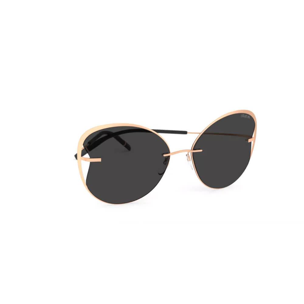 silhouette sunglasses titan accent shades